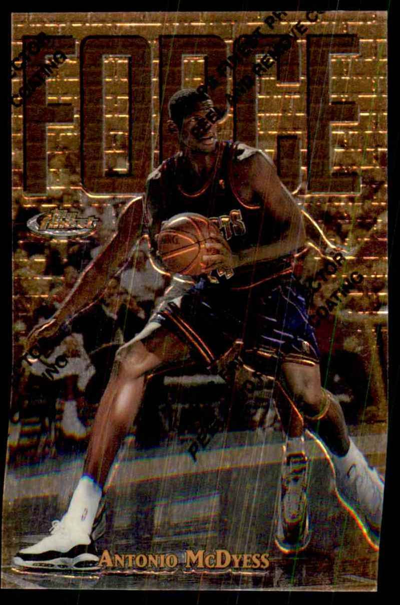1997-98 Finest Antonio McDyess G #168 card front image