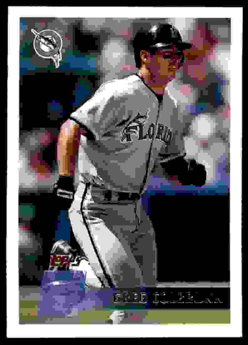 1996 Topps Greg Colbrunn #408 card front image