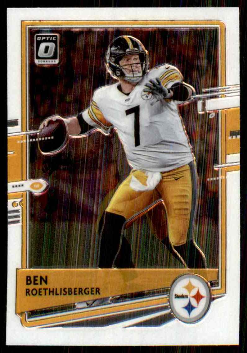 2020 Donruss Optic Ben Roethlisberger #82 card front image