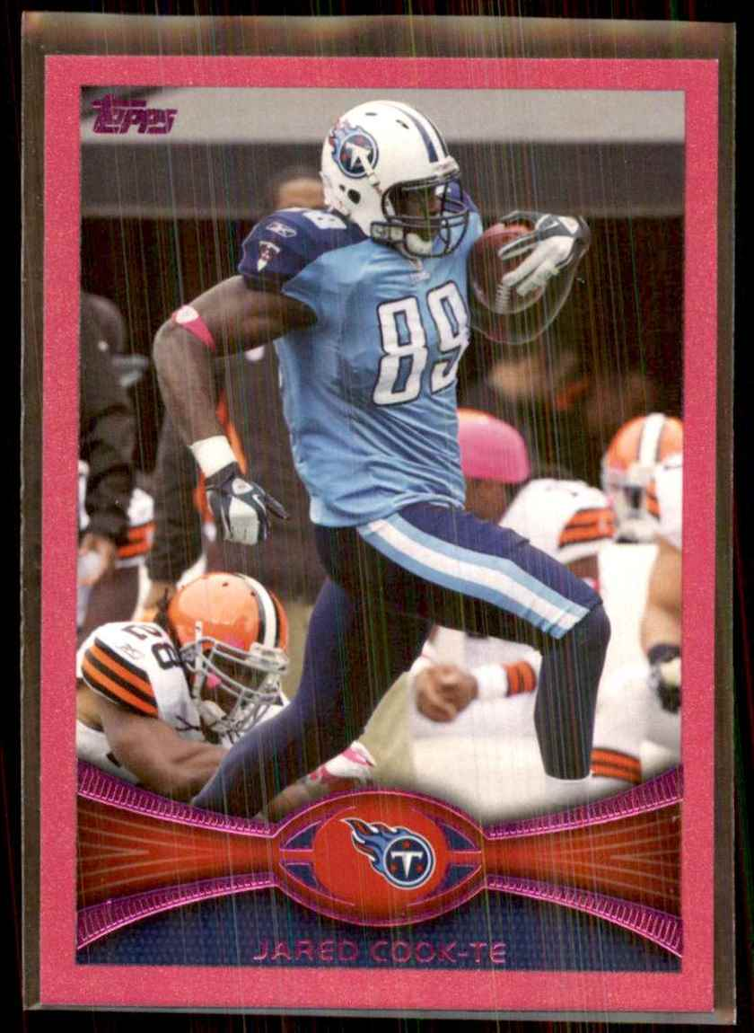 2012 Topps Pink Jared Cook #122 card front image