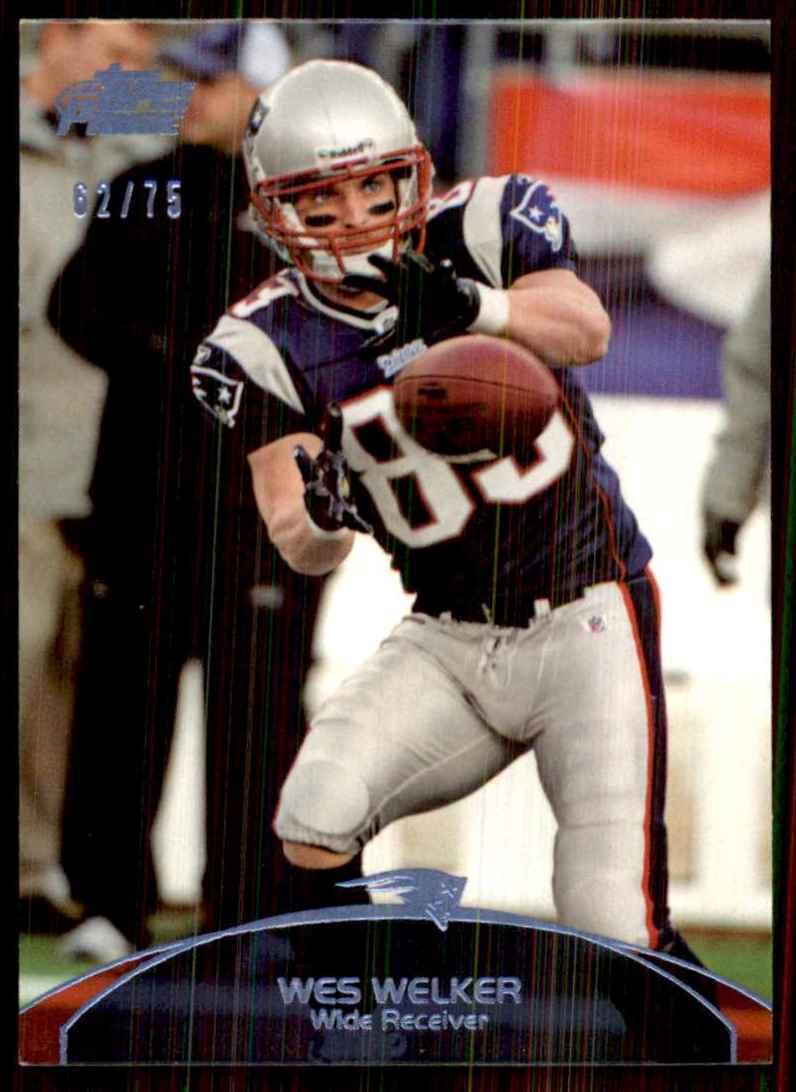 2011 Topps Prime Blue Wes Welker #135 card front image