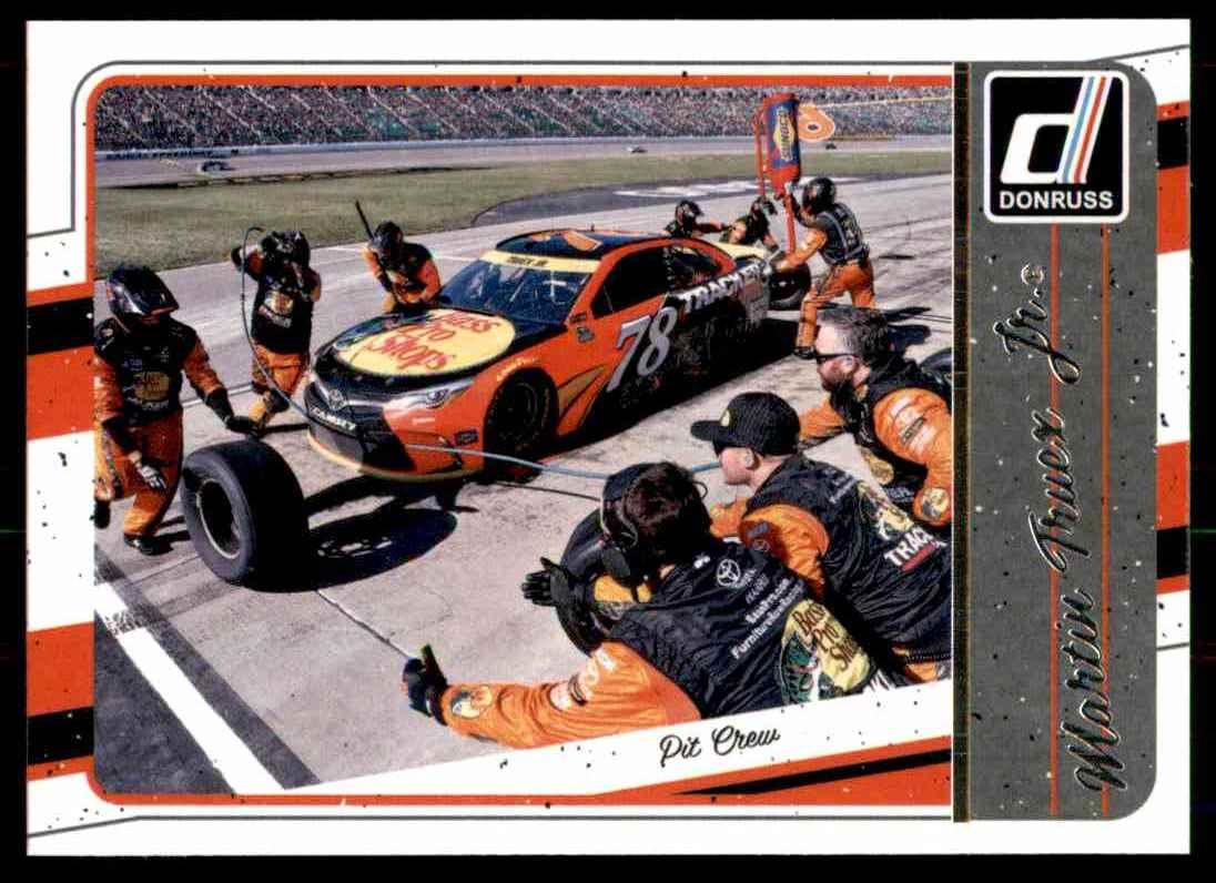2017 Donruss Martin Truex #96 card front image
