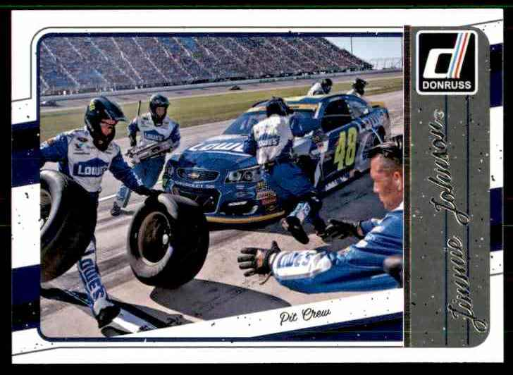 2017 Donruss Jimmie Johnson #91 card front image