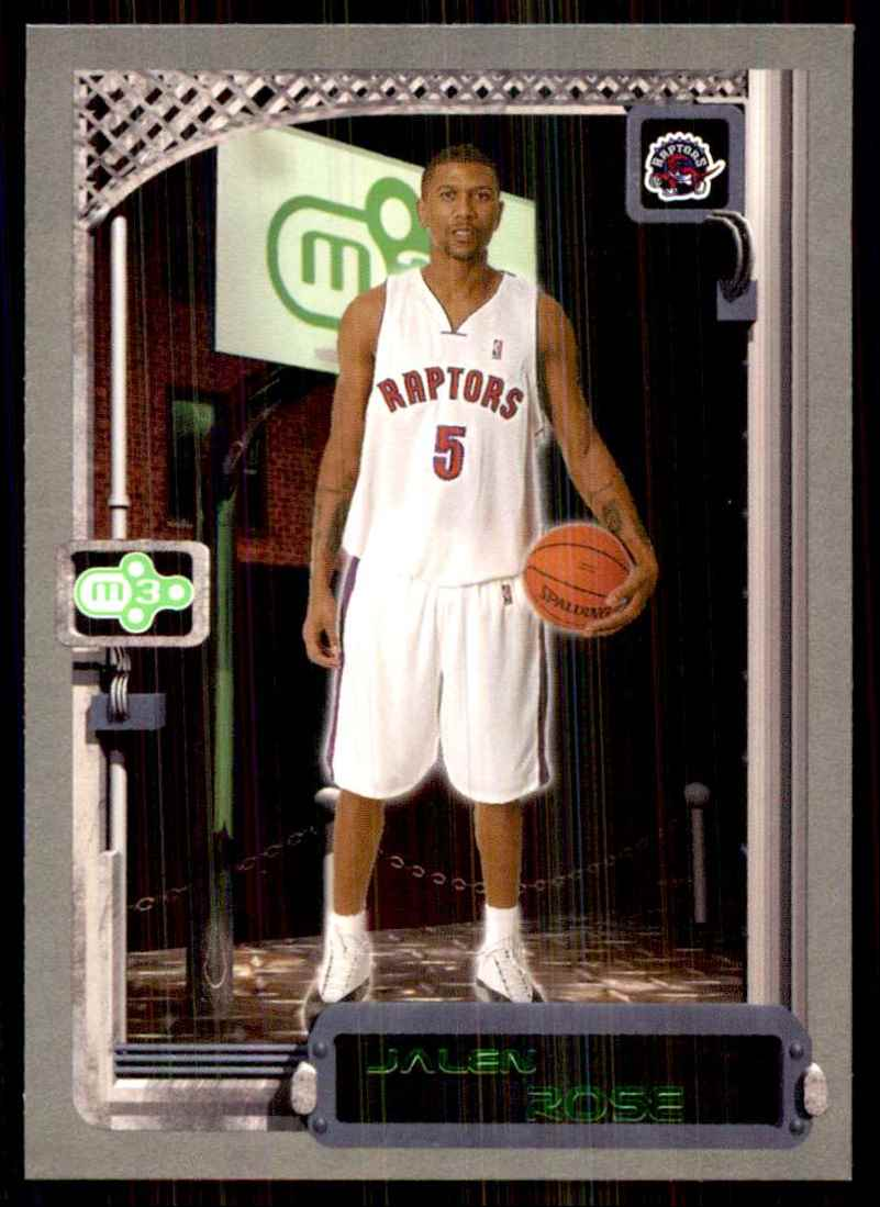 2003-04 Topps Rookie Matrix Jalen Rose #38 card front image
