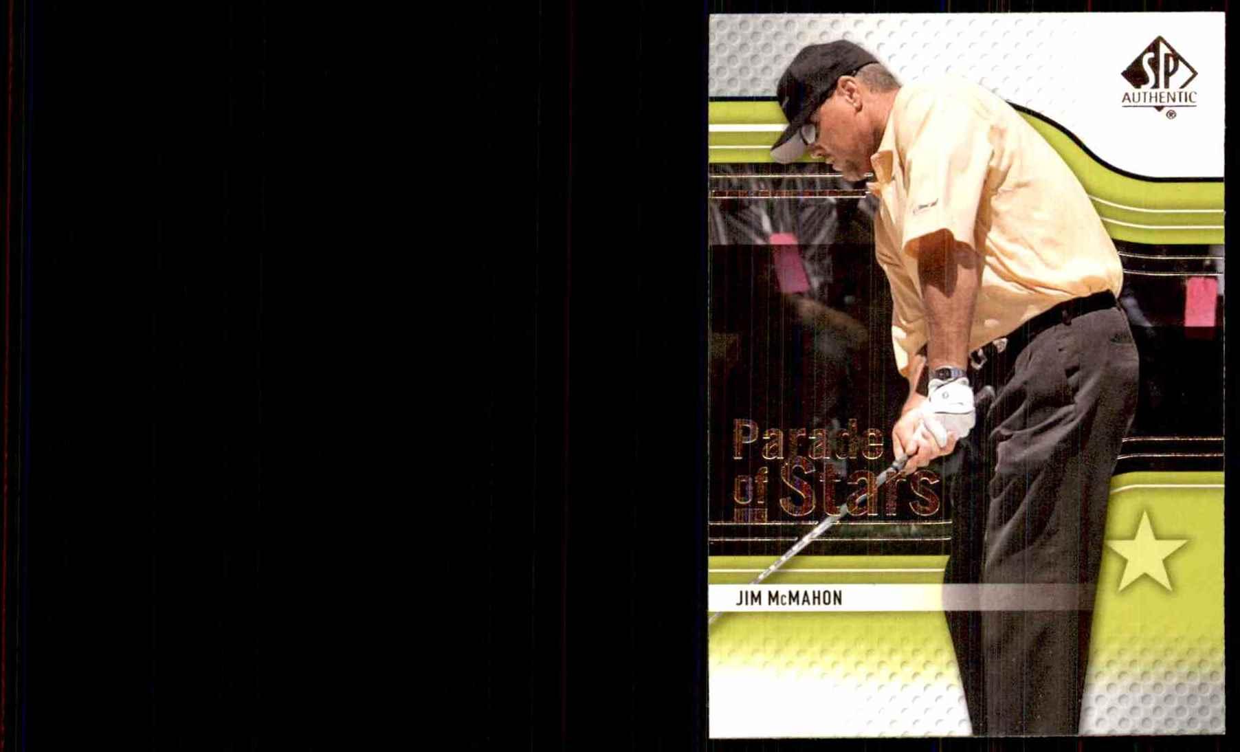 2012 SP Authentic Jim McMahon Ps #80 card front image