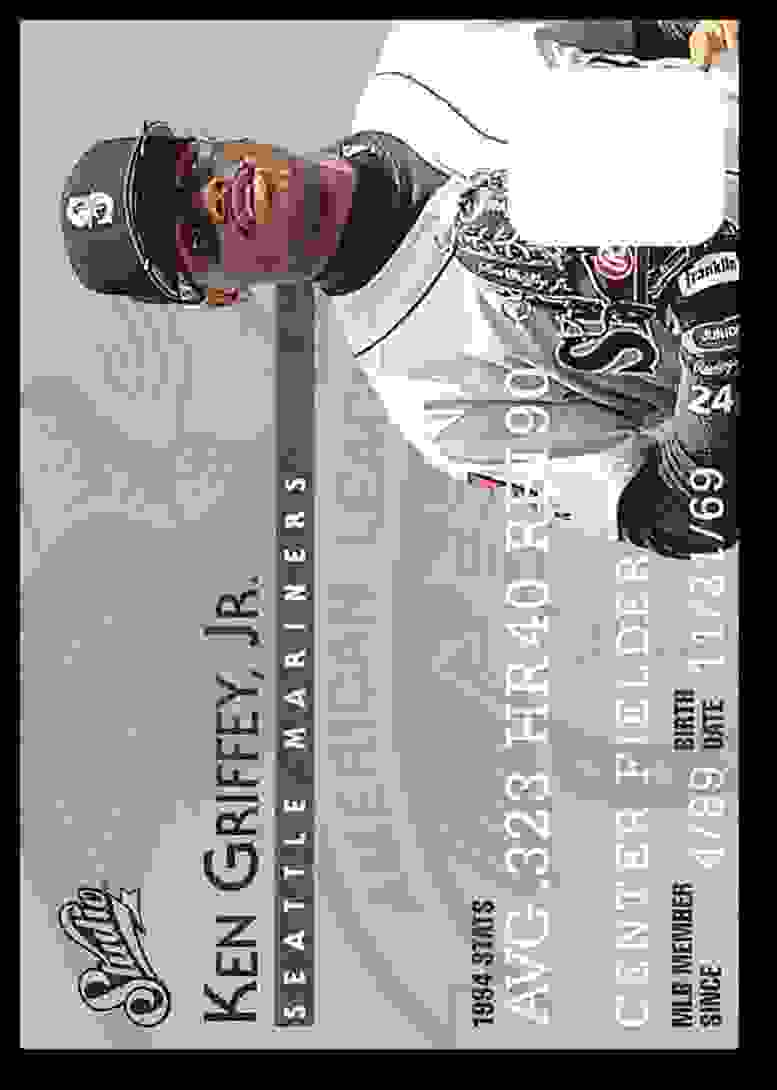 1995 Donruss Studio Ken Griffey JR. #5 card front image