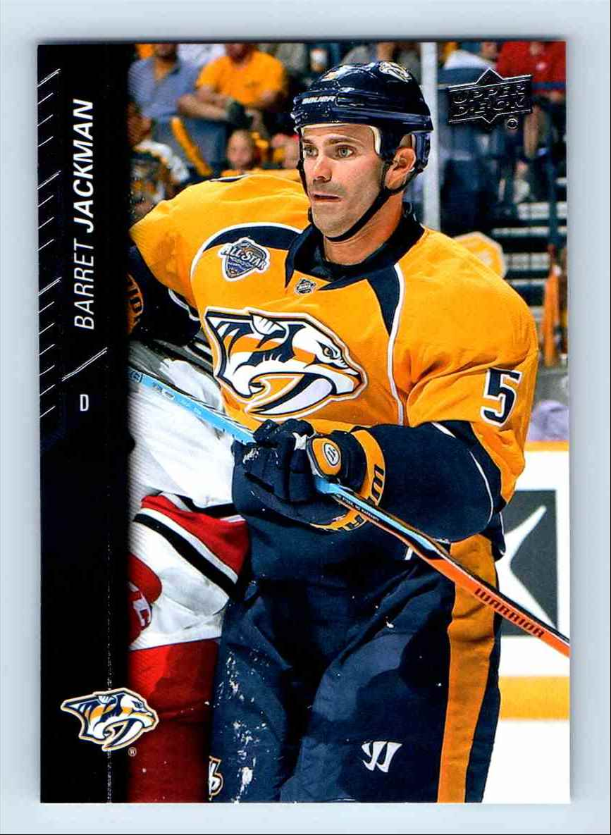 2015-16 Upper Deck Series Two Berret Jackman #363 card front image
