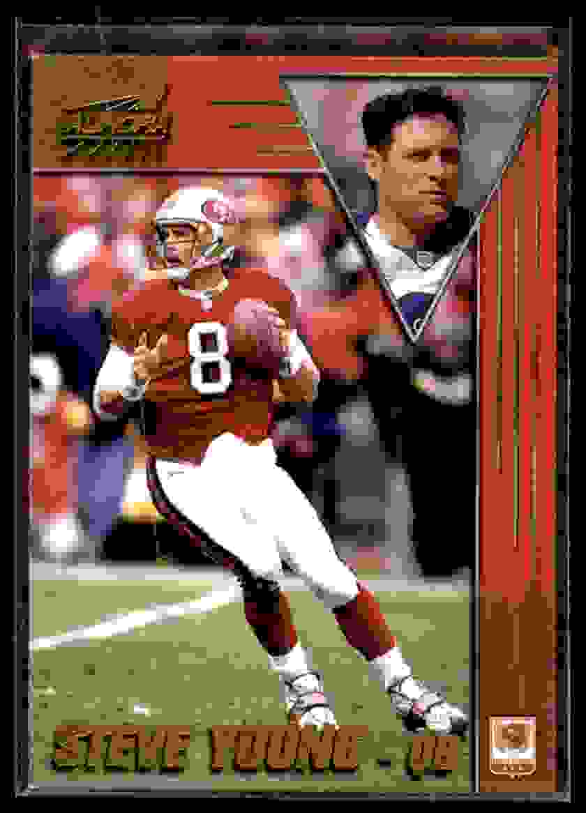 1998 Pacific Aurora Steve Young #170 card front image
