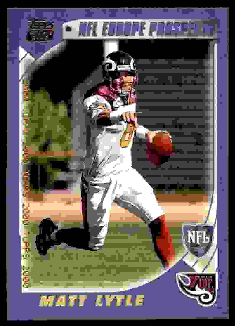 2000 Topps Matt Lytle #359 card front image