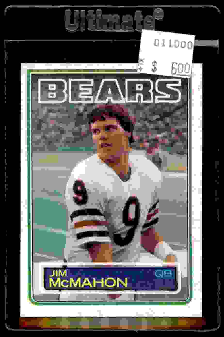 1983 Topps Jim McMahon #33 card front image