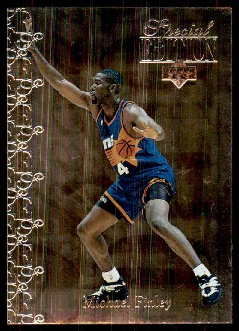 1995-96 Upper Deck Special Edition Michael Finley #152 card front image