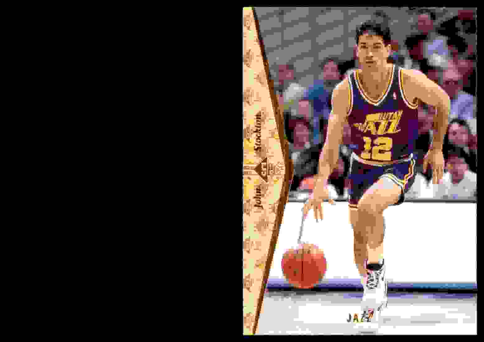 1994-95 SP John Stockton #157 card front image