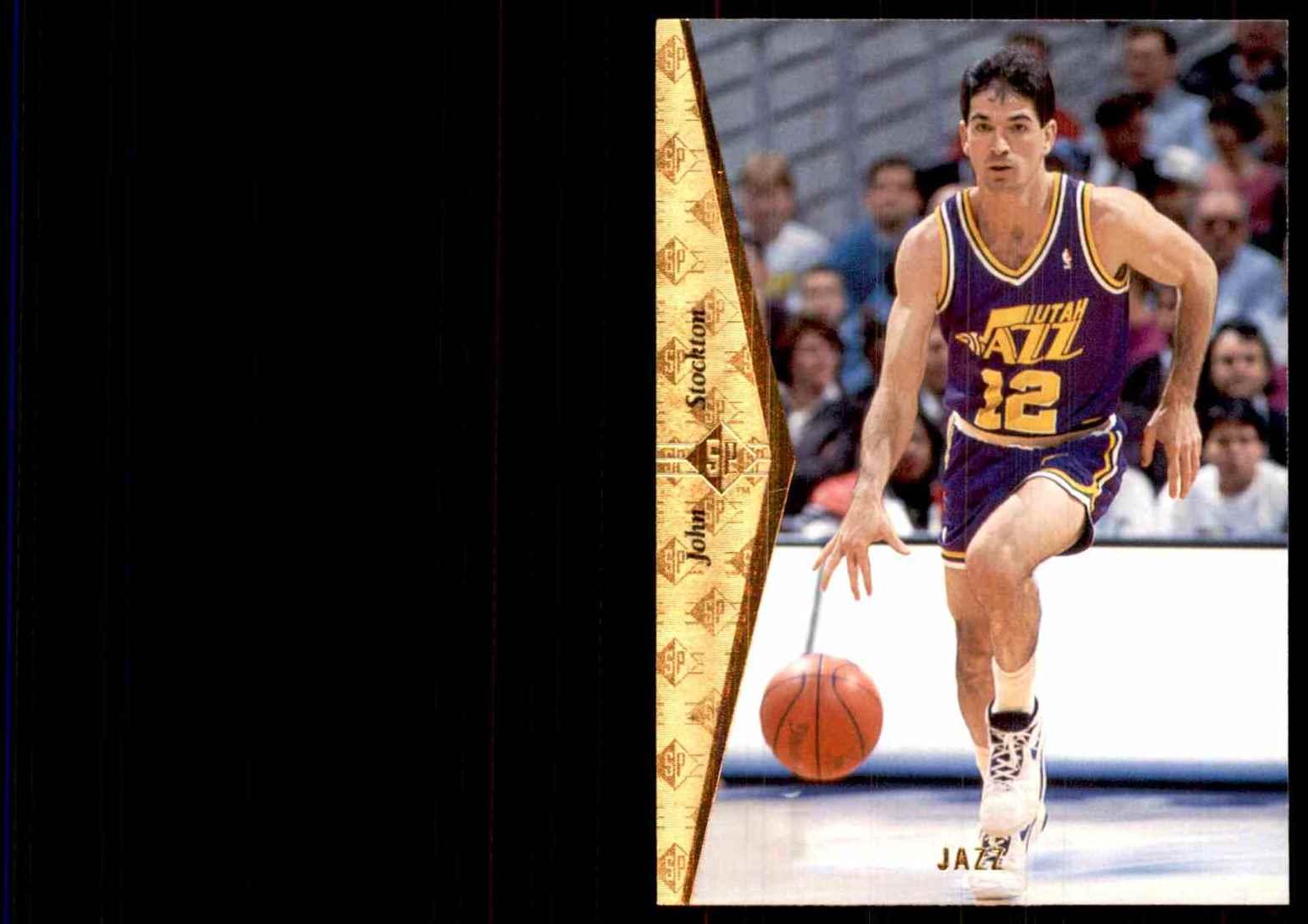 1994-95 SP John Stockton #157 card front image