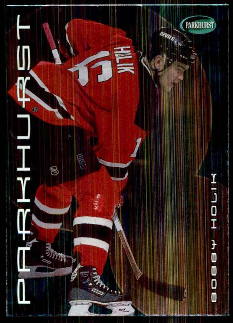 2001-02 Parkhurst Bobby Holik #195 card front image