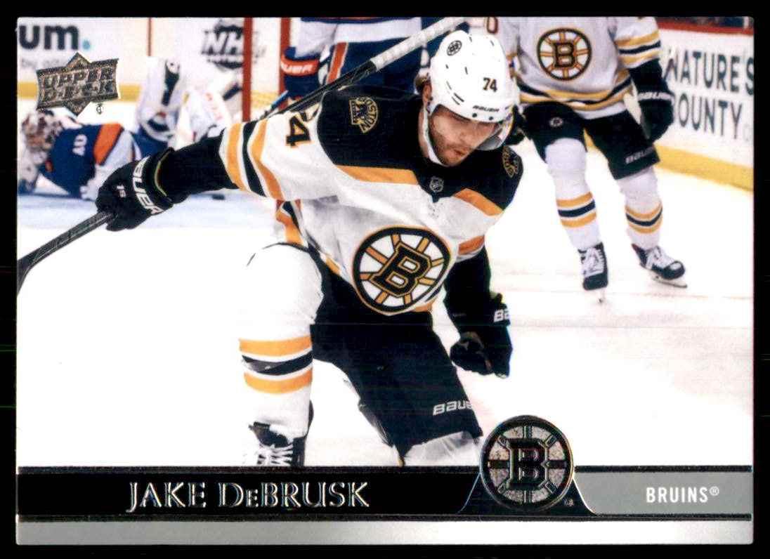 2020-21 Upper Deck Jake DeBrusk #265 card front image