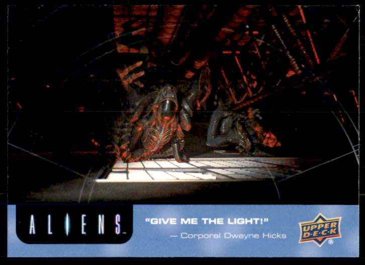 2018 Aliens Give Me The Light #81 card front image