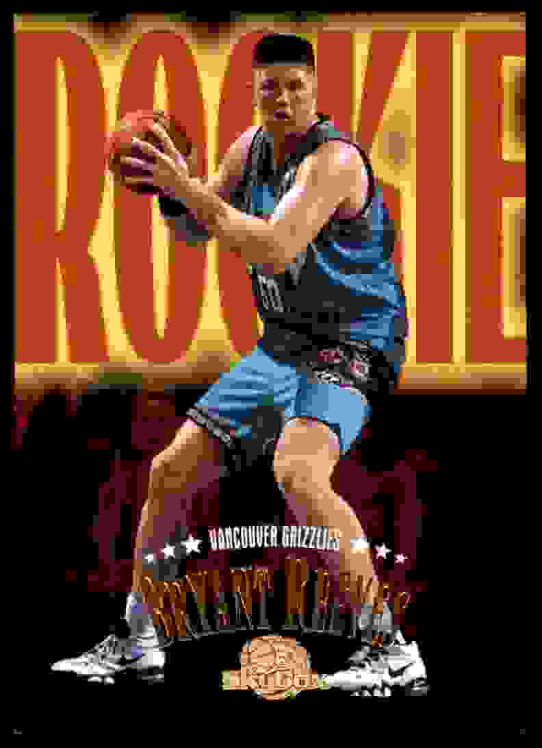1995-96 Skybox Premium Bryant Reeves RC #247 card front image