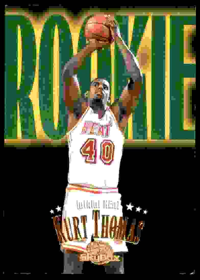 1995-96 Skybox Premium Kurt Thomas RC #231 card front image