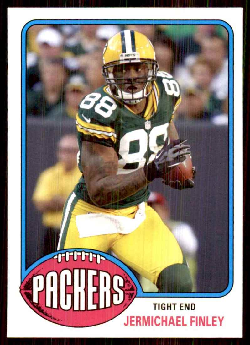 2013 Topps Archives Jermichael Finley #4 card front image