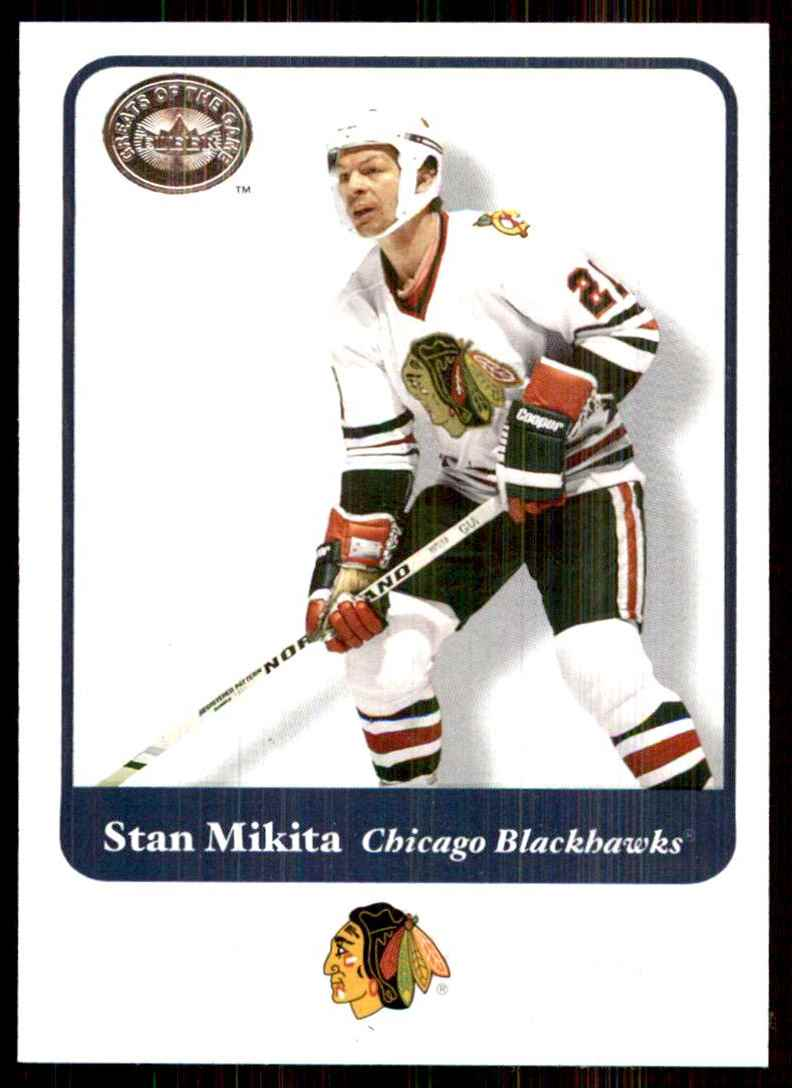 2001-02 Fleer Greats Of The Game Stan Mikita #31 card front image
