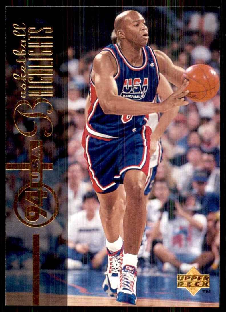 1994-95 Upper Deck Derrick Coleman USA #171 card front image