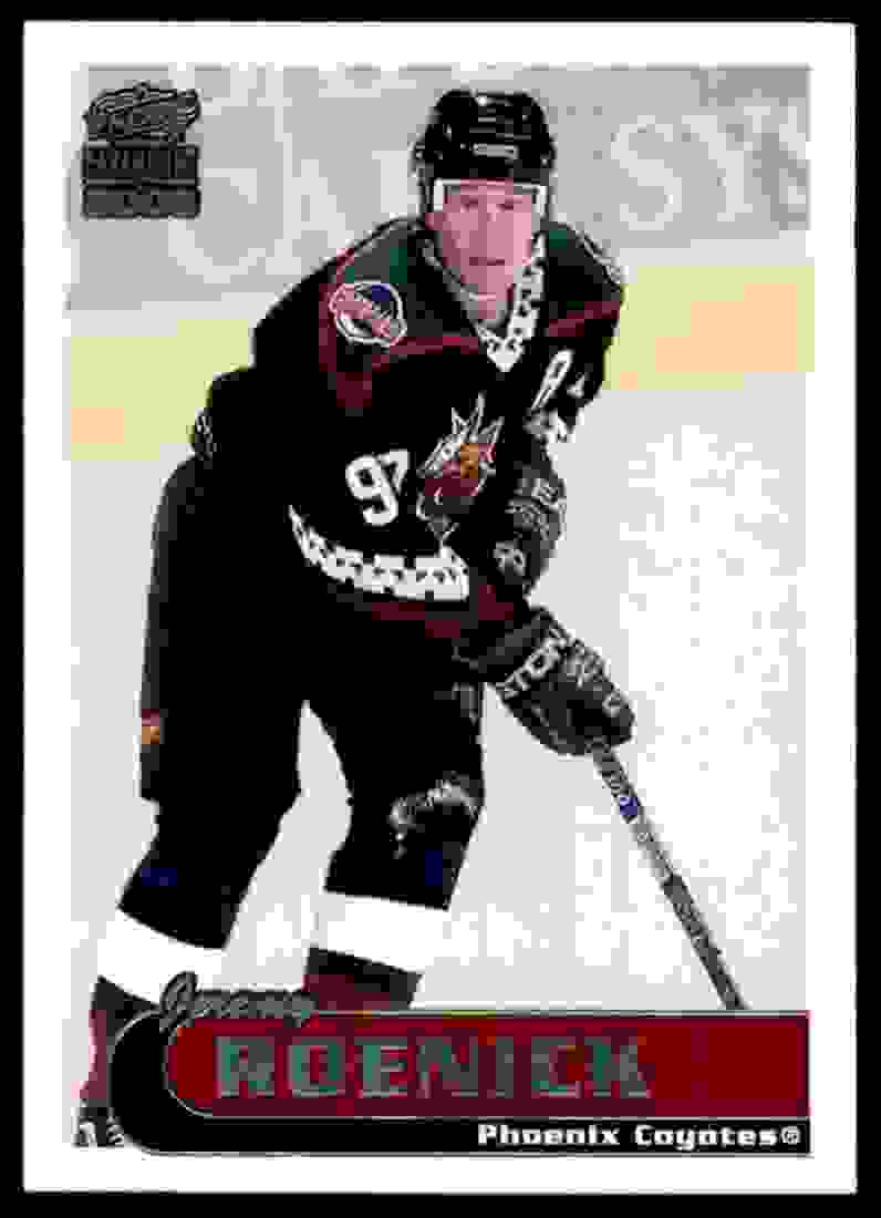 1999-00 Pacific Paramount Ice Blue Jeremy Roenick #182 card front image