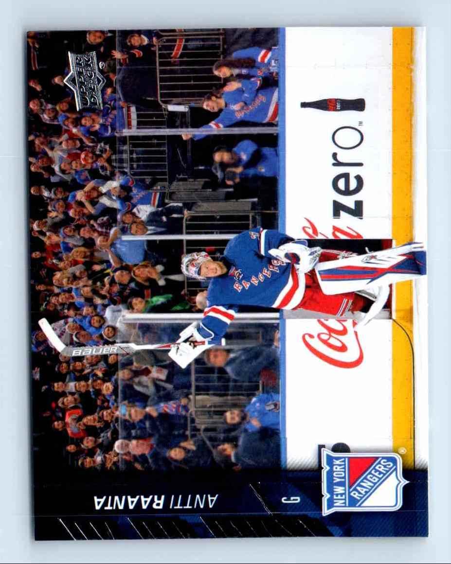 2015-16 Upper Deck Series 2 Antti Raanta #378 card front image