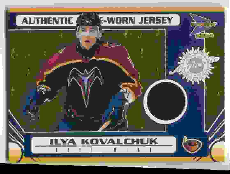 2003-04 Pacific Prism Jersey Ilya Kovalchuk #103 card front image