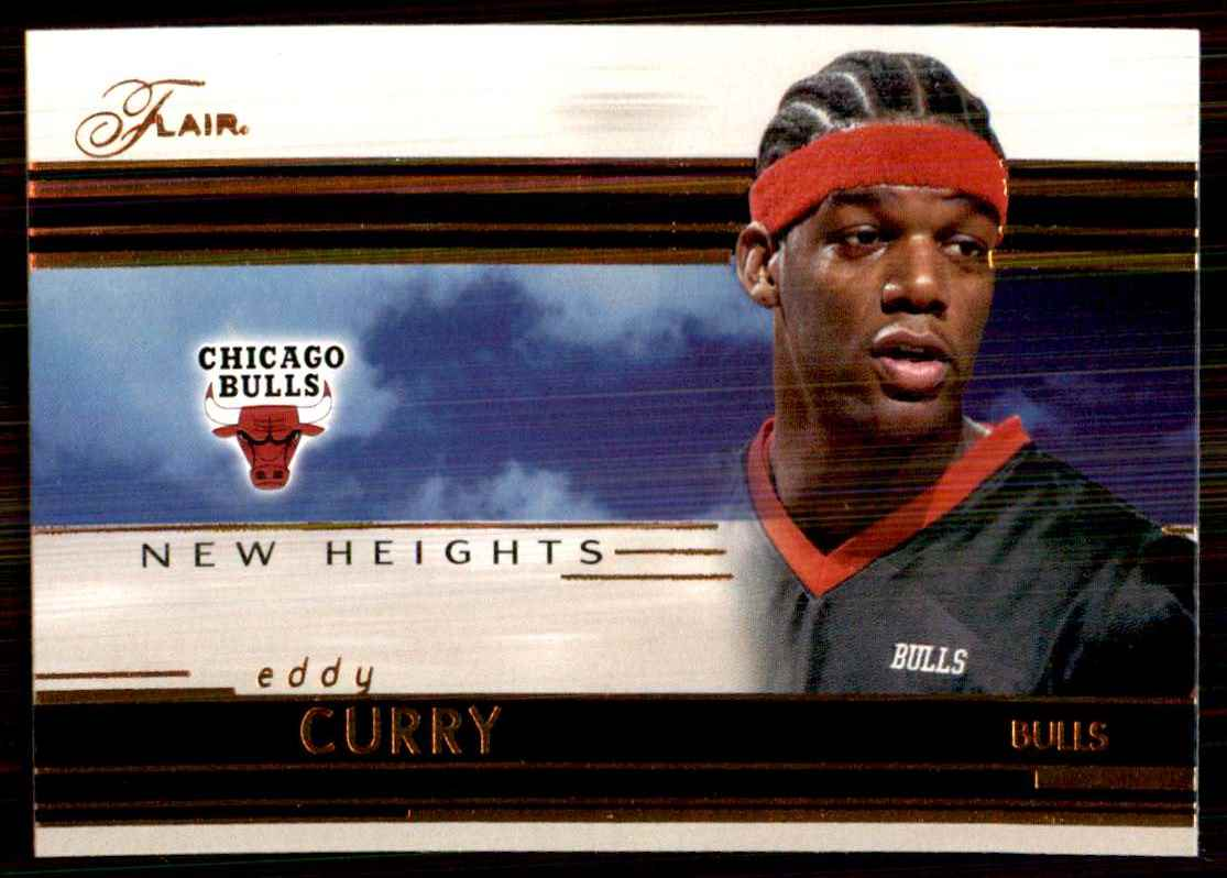 2002-03 Flair New Heights Eddy Curry #8 card front image