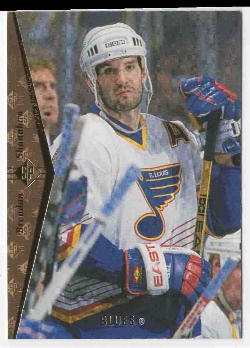 1995-96 Upper Deck Brendan Shanahan #101 card front image
