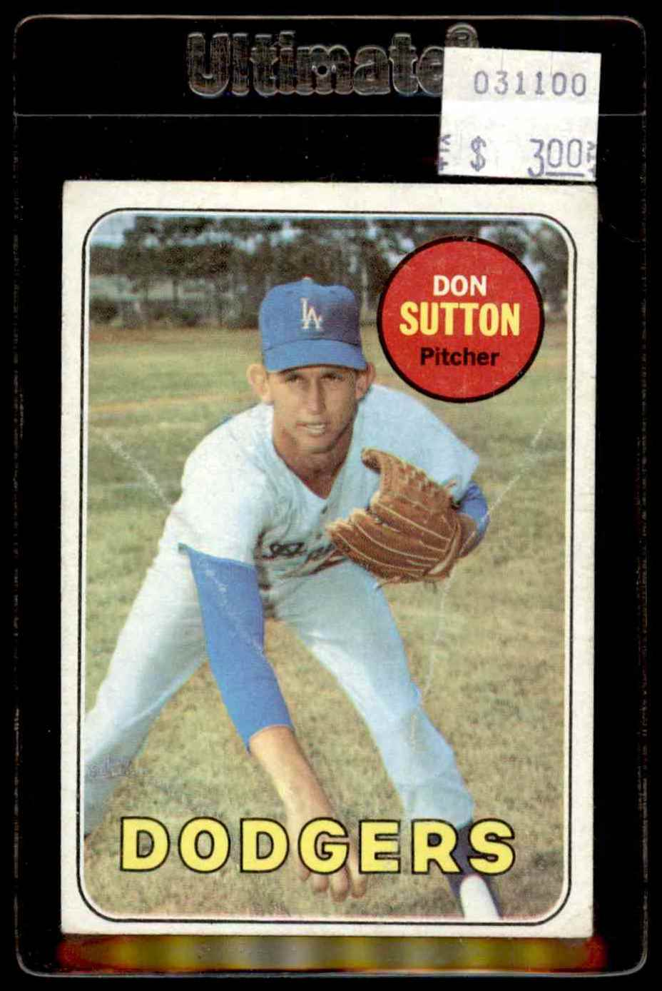 1969 Topps Don Sutton #216 card front image