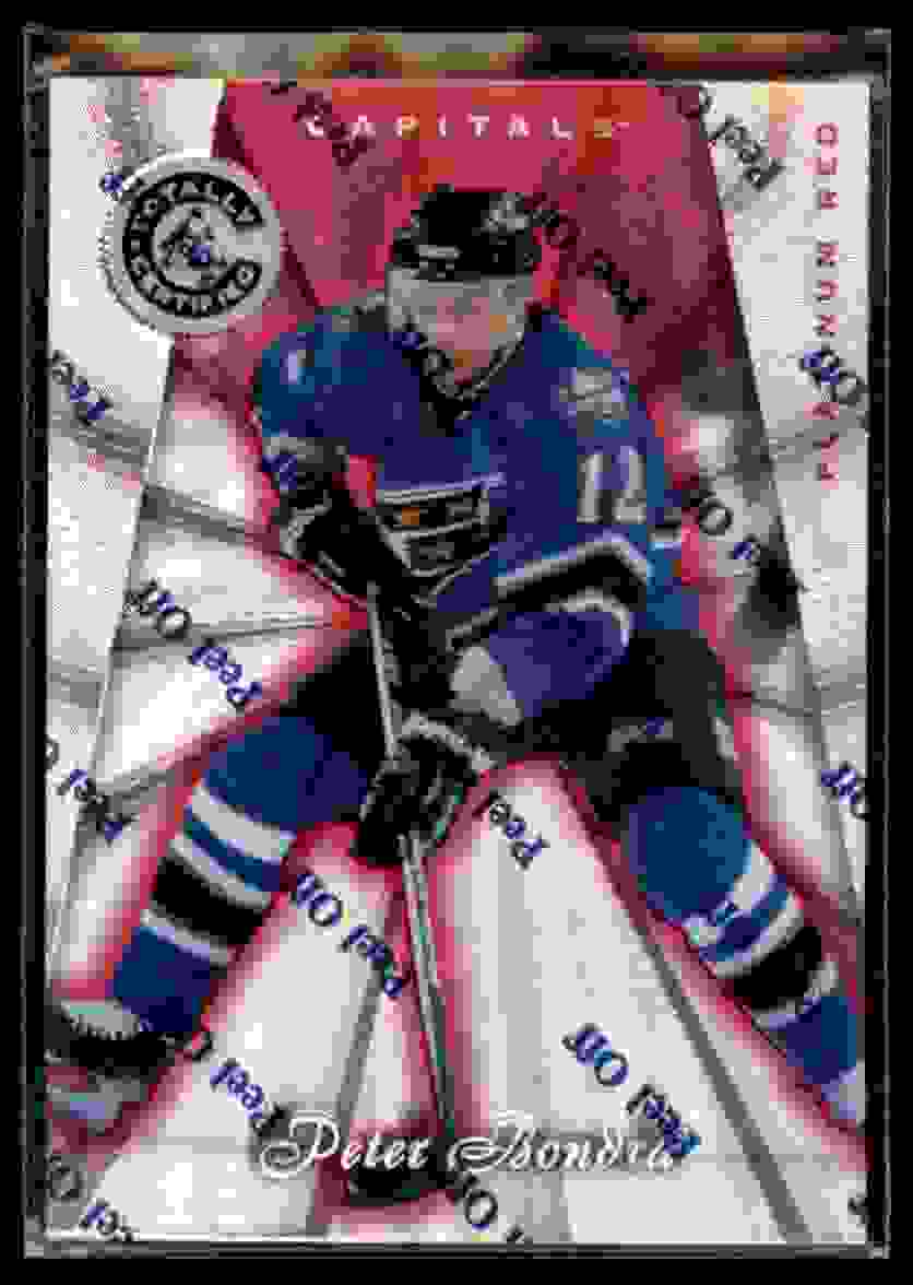 1997-98 Totally Certified Platinum Red Peter Bondra #46 card front image