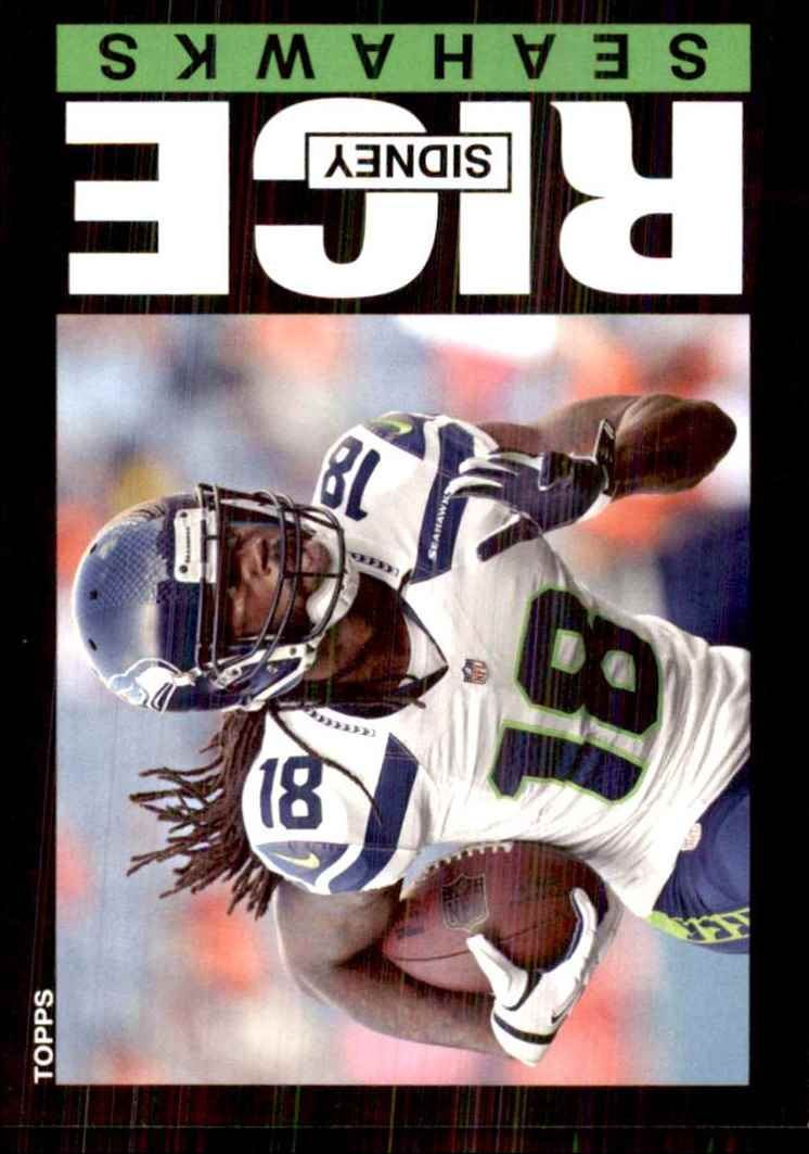 2013 Topps Archives Sidney Rice #93 card front image
