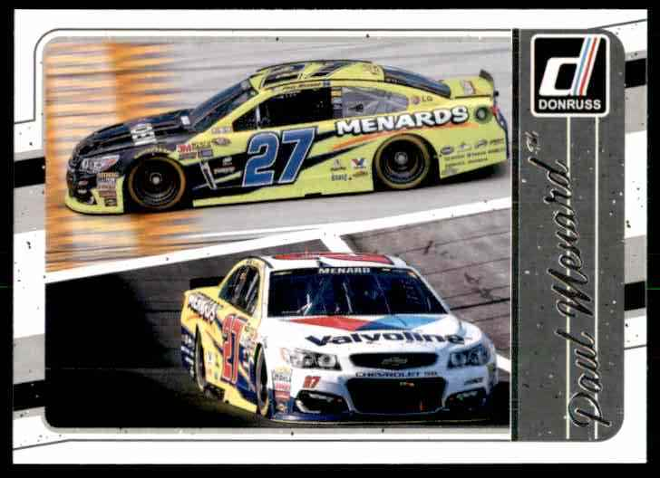 2017 Donruss Paul Menard #115 card front image