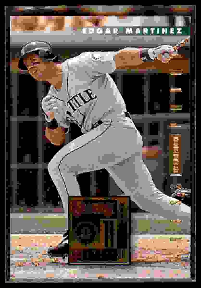 1996 Donruss Press Proof Edgar Martinez #471 card front image