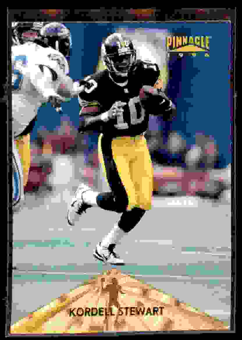 1996 Pinnacle Kordell Stewart #14 card front image