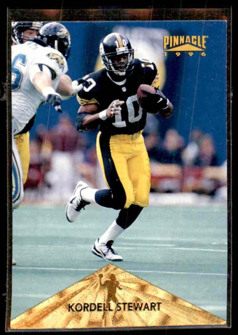 1996 Pinnacle Kordell Stewart #14 card front image