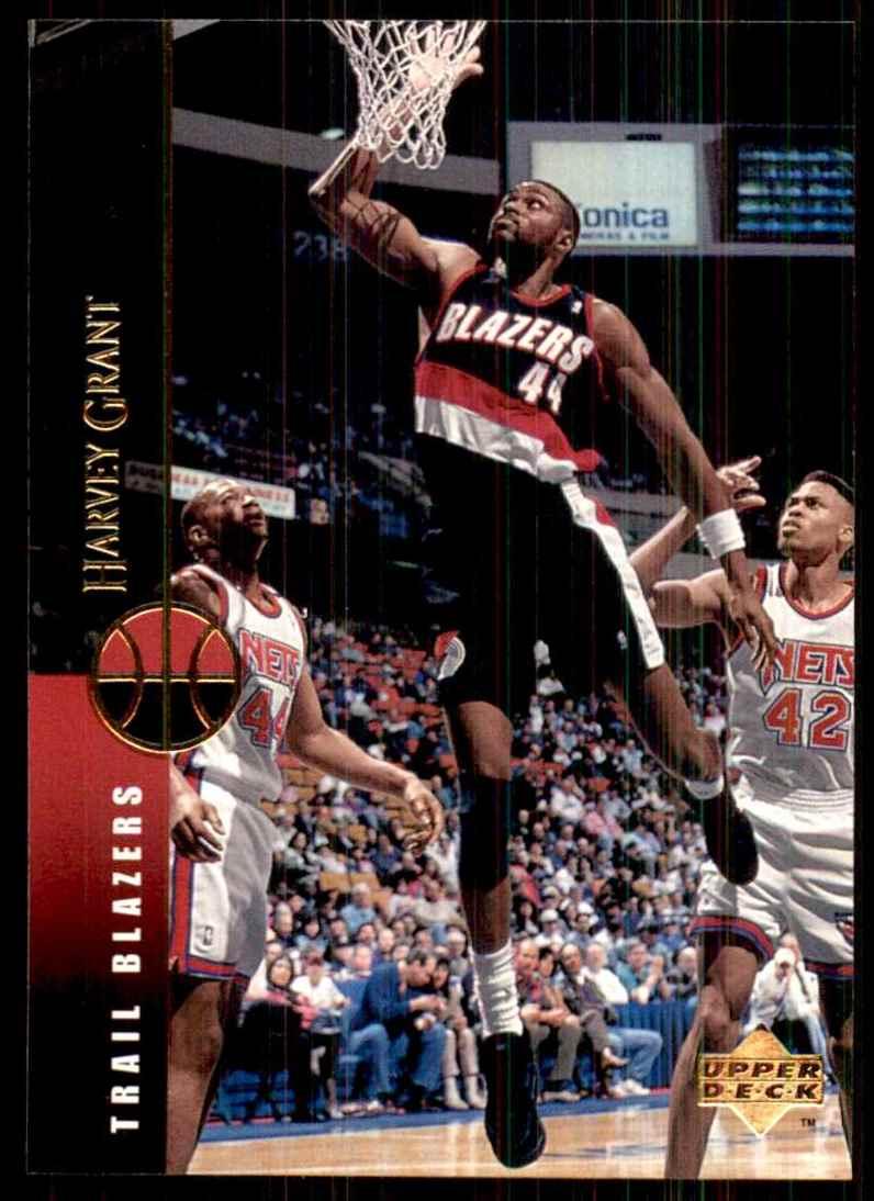 1994-95 Upper Deck Harvey Grant #122 card front image