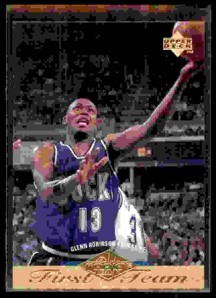 1995-96 Upper Deck Glenn Robinson Art #157 card front image