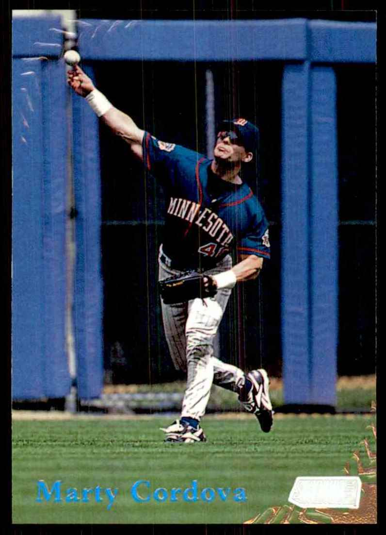 1998 Stadium Club Marty Cordova #34 card front image