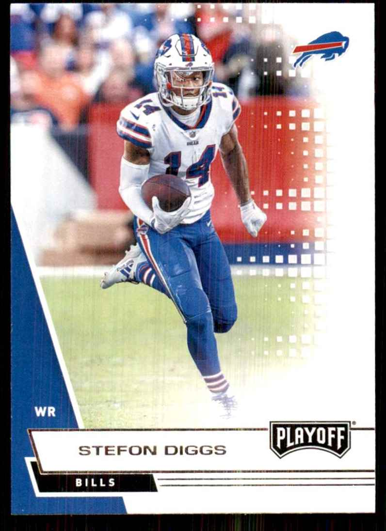 2020 Playoff Stefon Diggs #2 card front image