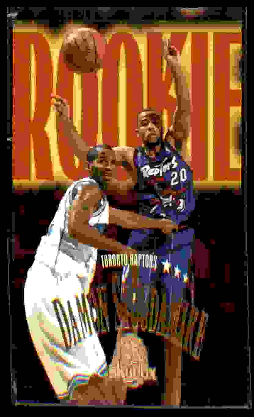 1995-96 Skybox Premium Damon Stoudamire RC #244 card front image