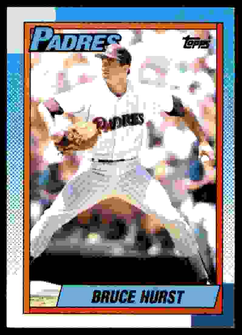 1990 Topps Bruce Hurst #315 card front image