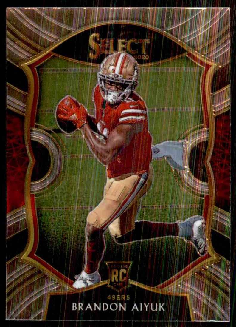 2020 Select Brandon Aiyuk RC #66 card front image