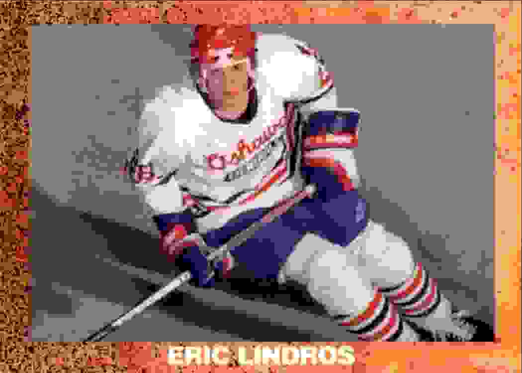 1991-92 Unknown Eric Lindors #NON card front image