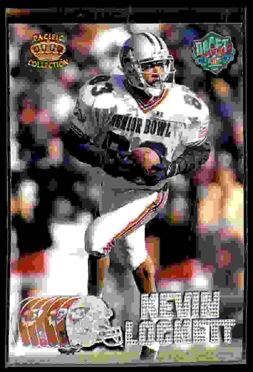 1997 Pacific Silver Kevin Lockett #438 card front image