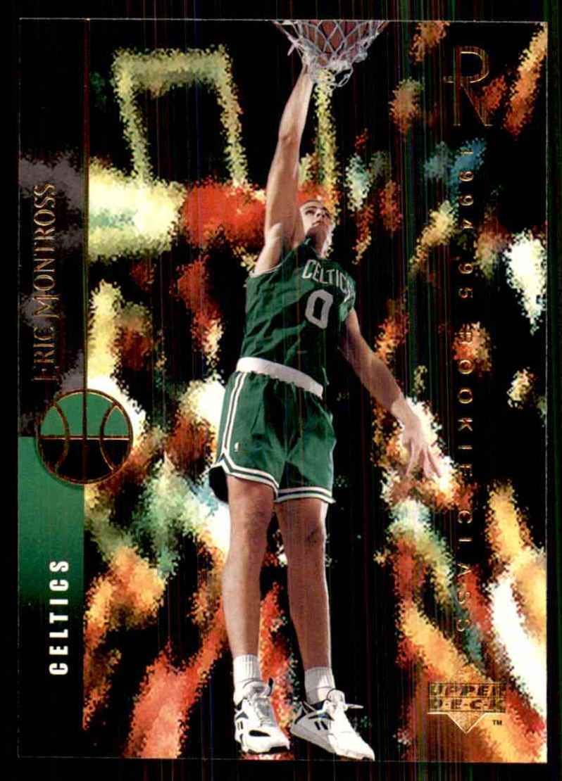 1994-95 Upper Deck Eric Montross RC #162 card front image