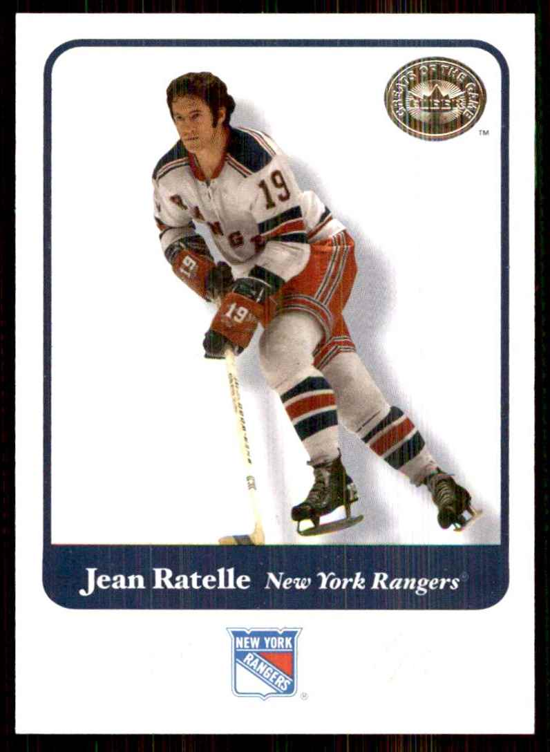 2001-02 Fleer Greats Of The Game Jean Ratelle #27 card front image
