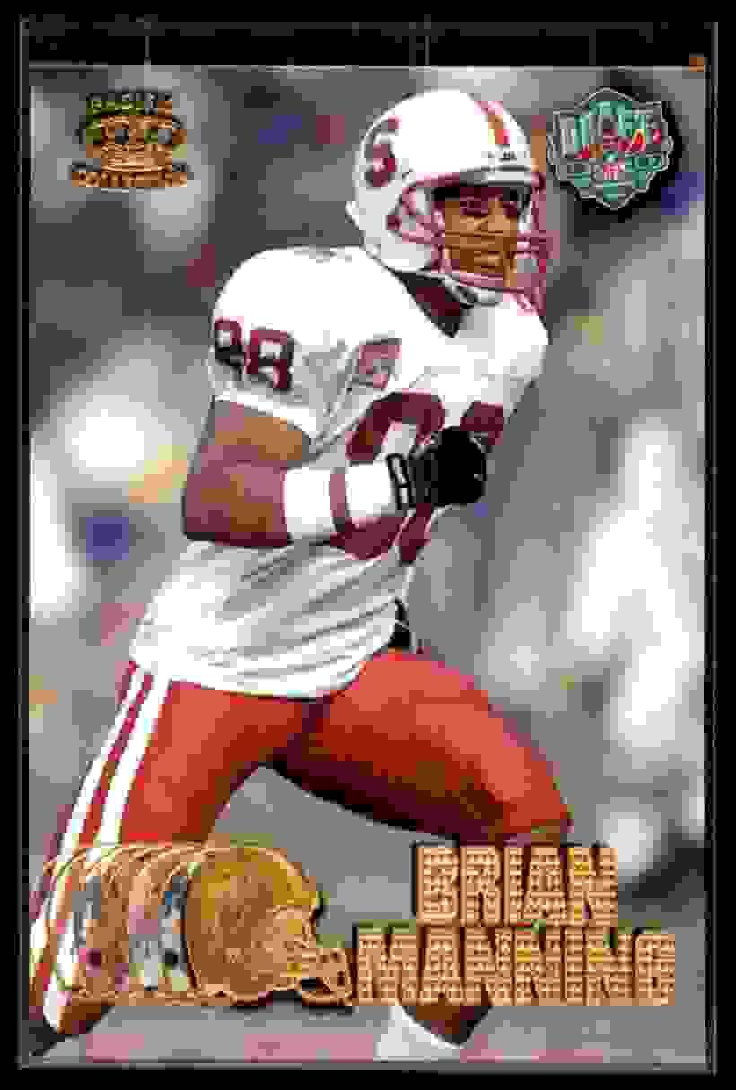 1997 Pacific Brian Manning #440 card front image