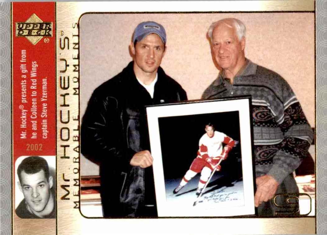 2003-04 Upper Deck MR. Hockey Gordie Howe #GH30 card front image